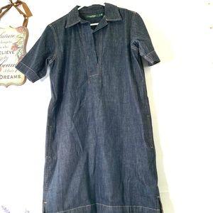 Lauren Ralph Lauren Women's Jean Dress